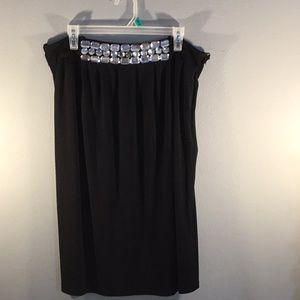 Rampage Black Ladies Skirt